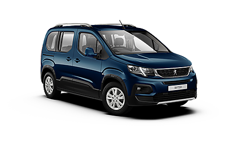 Peugeot Rifter Allure Exterior in Deep Blue
