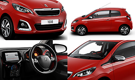 Peugeot 108 Collection 3dr Collage