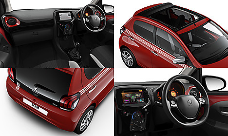 Peugeot 108 Collection TOP! Collage