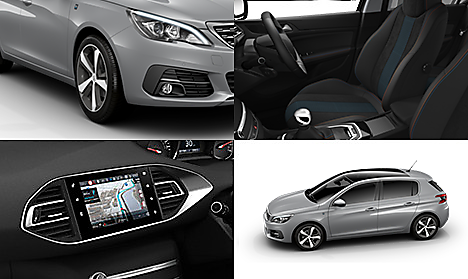 choose trim configure peugeot 308 peugeot uk. Black Bedroom Furniture Sets. Home Design Ideas