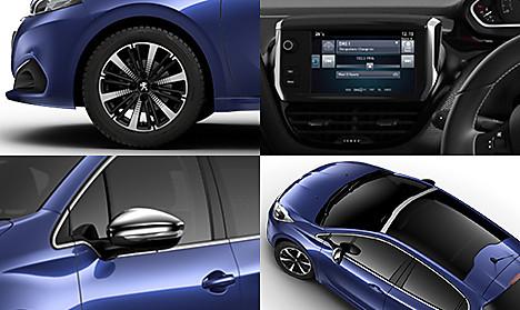 Peugeot 208 Allure Premium Collage