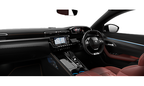 Peugeot all-new 508 SW Interior in Twilight Blue