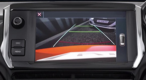 Peugeot 208 Allure Premium Colour Reversing Camera
