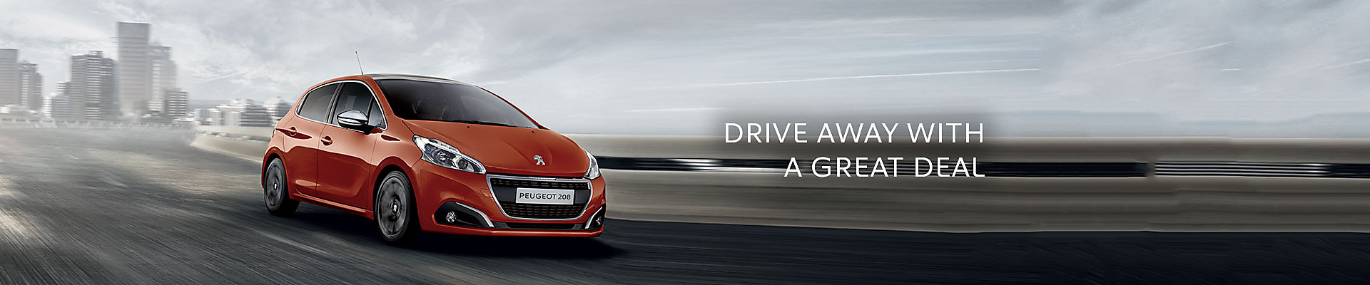 Peugeot 208 Allure Premium in Orange Power