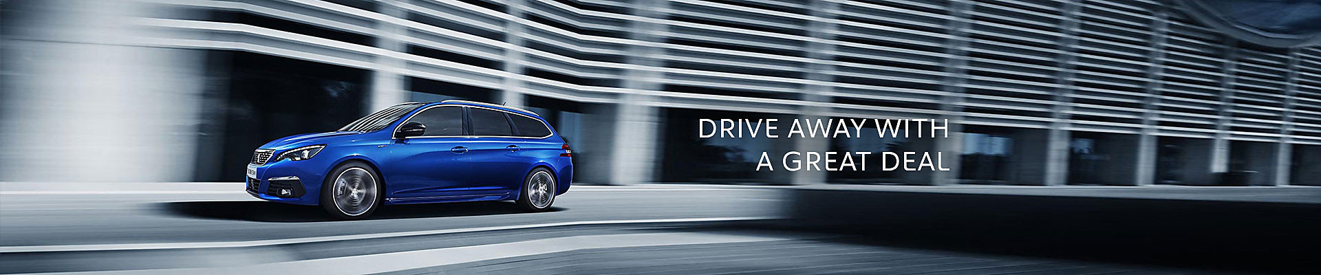 Peugeot New 308 SW in Magnetic Blue