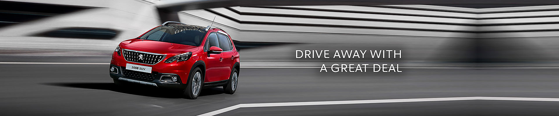 Peugeot 2008 SUV in Ultimate Red