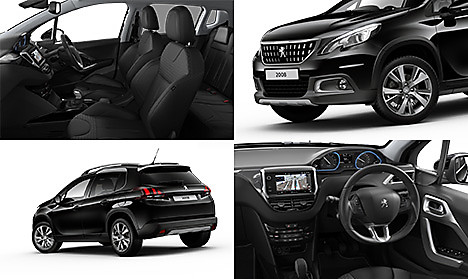 2008 SUV Allure in Nera Black Collage
