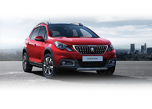 Peugeot 2008 SUV Configure a Car