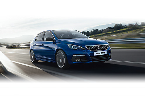 Peugeot New 308 Configure a Car