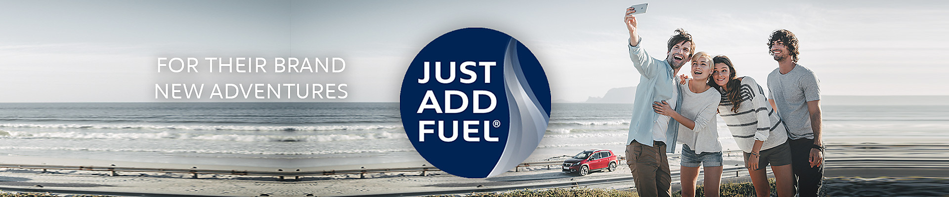 Peugeot Just Add Fuel Their First Car
