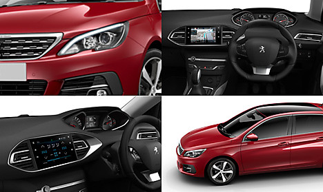 Peugeot New 308 Allure Collage