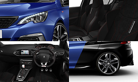 Peugeot New 308 GTi Collage