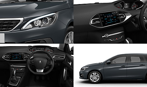 Peugeot New 308 SW Active Collage