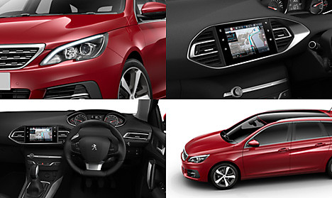 Peugeot New 308 SW Allure Collage