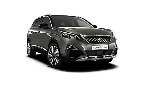 Peugeot 5008 SUV GT Line Premium in Amazonite Grey
