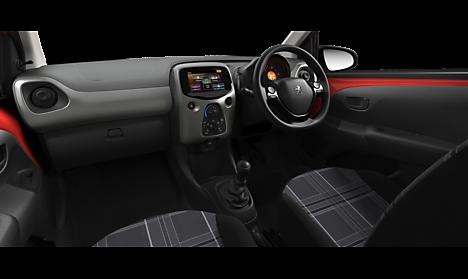 Peugeot 108 Active Interior