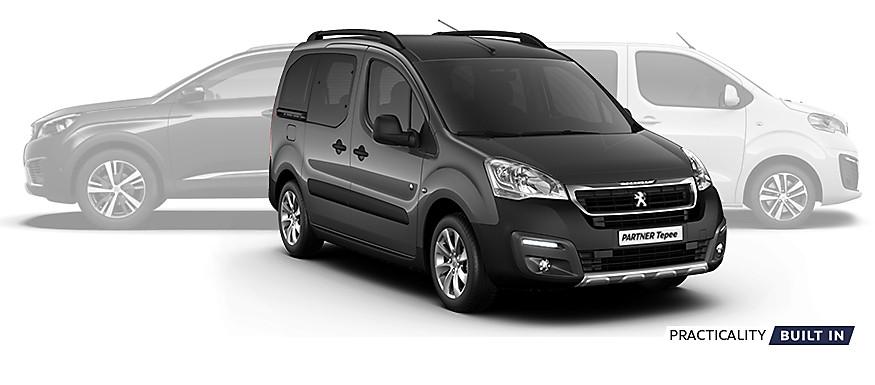Peugeot Partner Tepee in Shark Grey