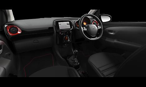 Peugeot 108 GT Line Interior