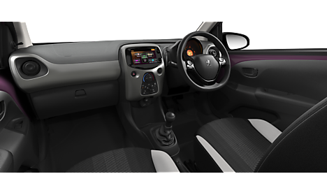 Peugeot 108 TOP Active Interior