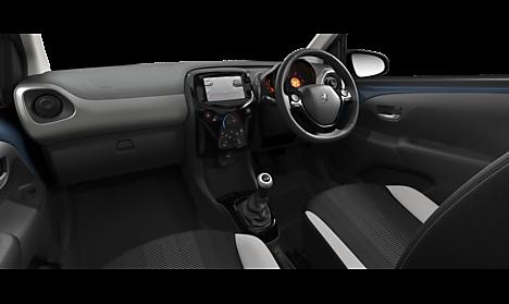 Peugeot 108 TOP Allure Interior