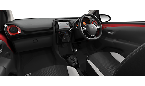 Peugeot 108 TOP! Collection Interior