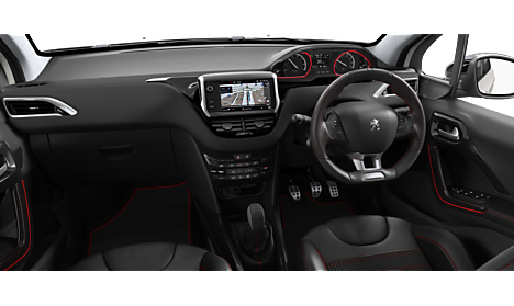 Peugeot 2008 SUV GT Line Interior
