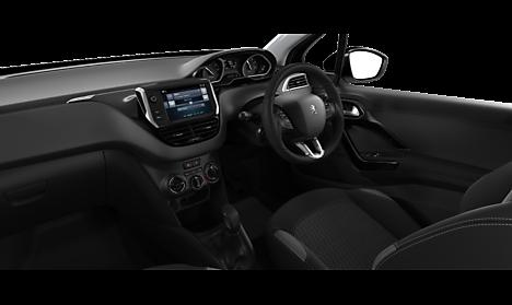 Peugeot 208 Black Edition Interior