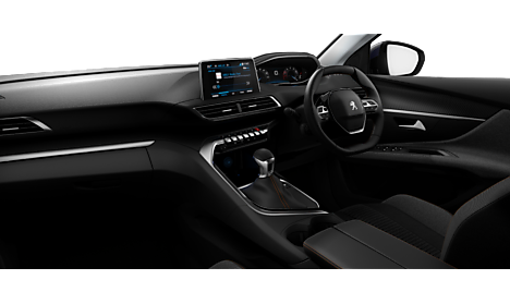 Peugeot New 3008 SUV Active Interior
