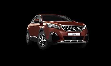 Peugeot New 3008 SUV Allure Exterior