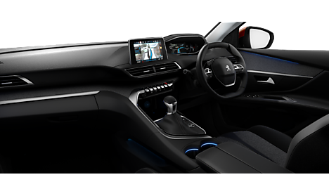 Peugeot New 3008 SUV Allure Interior