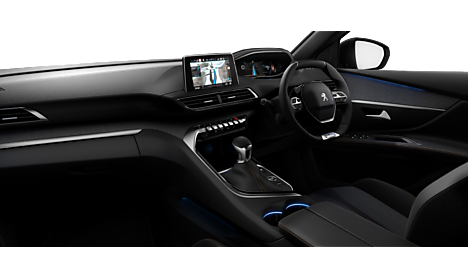 Peugeot New 3008 SUV GT Line Interior
