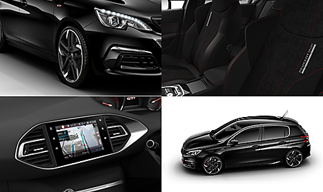 Peugeot 308 GTi 260 by Peugeot Sport Collage