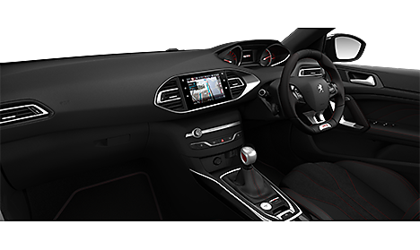 Peugeot 308 GTi 260 by Peugeot Sport Interior