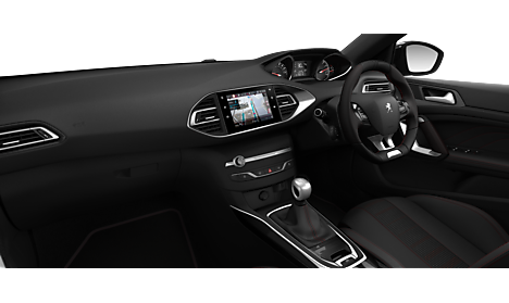 Peugeot New 308 GT Line Interior