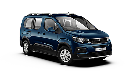 Peugeot all-new Rifter Allure Long in Deep Blue