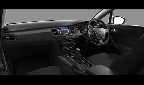 Peugeot 508 SW Active Interior