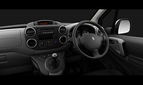 Peugeot Partner Tepee Active Interior
