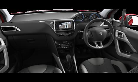 Peugeot 2008 SUV Allure Interior