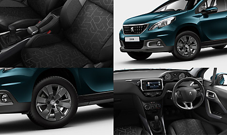Peugeot 2008 SUV Active Collage