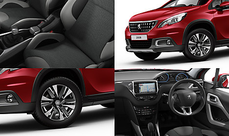 Peugeot 2008 SUV Allure Collage