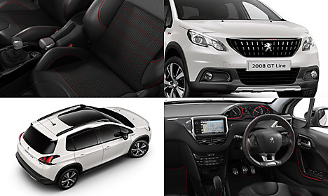 Peugeot 2008 SUV GT Line Collage