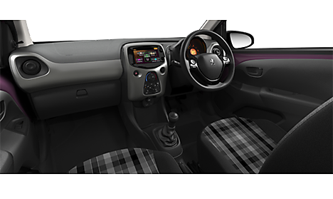 Peugeot 108 TOP! Active Interior
