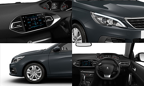 Peugeot New 308 Active Collage