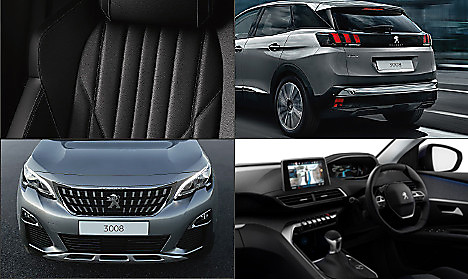 Peugeot New 3008 SUV Allure Collage