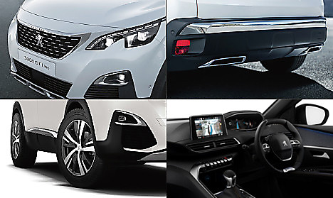 Peugeot New 3008 SUV GT Line Collage