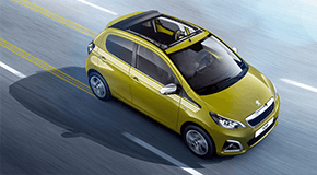Peugeot 108 TOP Collection in Green Fizz