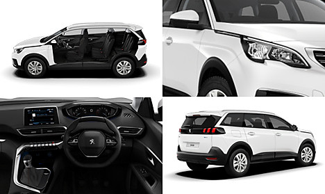 Peugeot New 5008 SUV Active Collage