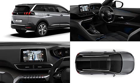 Peugeot New 5008 SUV GT Collage