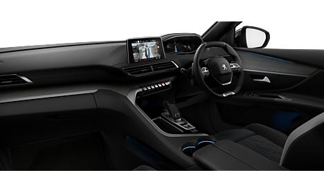 Peugeot New 5008 SUV GT Interior