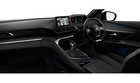 Peugeot New 5008 SUV GT Line Interior